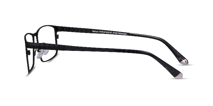 Driven Black Titanium Eyeglass Frames from EyeBuyDirect