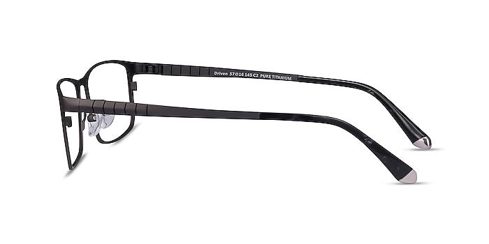 Driven Gunmetal Titanium Eyeglass Frames from EyeBuyDirect