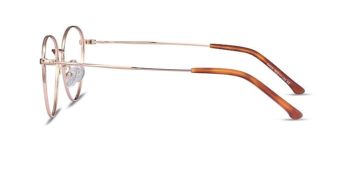 Gaze Rose Gold Titanium Eyeglass Frames from EyeBuyDirect