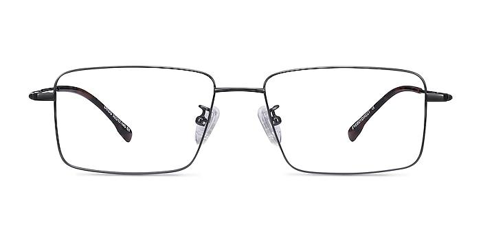 Lands Gunmetal Titanium Eyeglass Frames from EyeBuyDirect