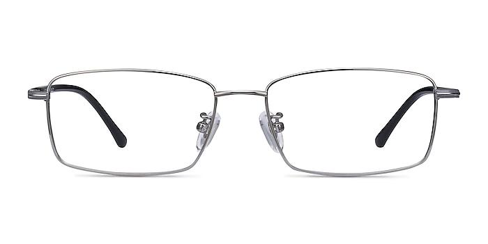 Holmst Gunmetal Titanium Eyeglass Frames from EyeBuyDirect