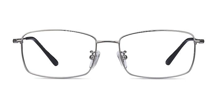 Hobbes Gunmetal Titanium Eyeglass Frames from EyeBuyDirect