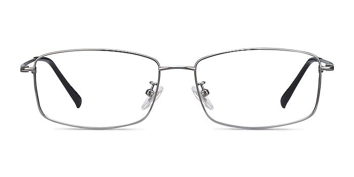 Embark Gunmetal Titanium Eyeglass Frames from EyeBuyDirect