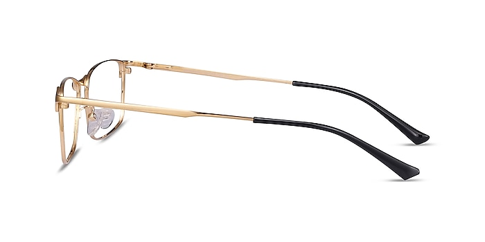 Constant Gold Titanium Eyeglass Frames from EyeBuyDirect