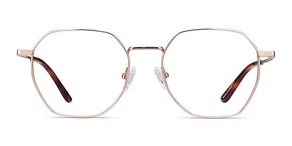 Comet Rose Gold Titanium Eyeglass Frames