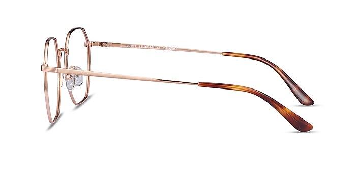 Comet Rose Gold Titane Montures de lunettes de vue d'EyeBuyDirect