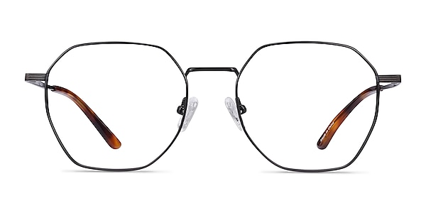 Comet Black Titanium Eyeglass Frames
