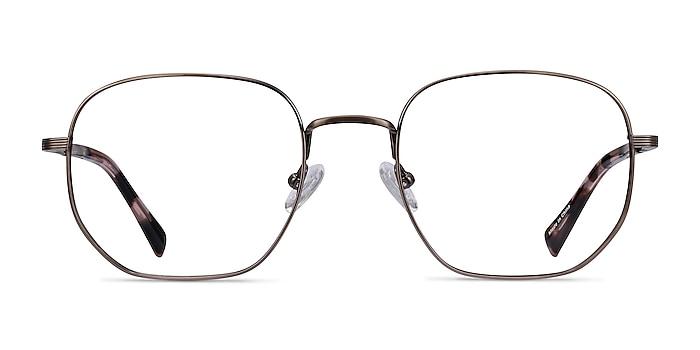 Dante Bronze Titanium Eyeglass Frames from EyeBuyDirect