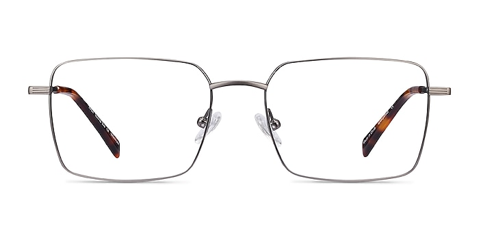 Apex Gunmetal Titanium Eyeglass Frames from EyeBuyDirect