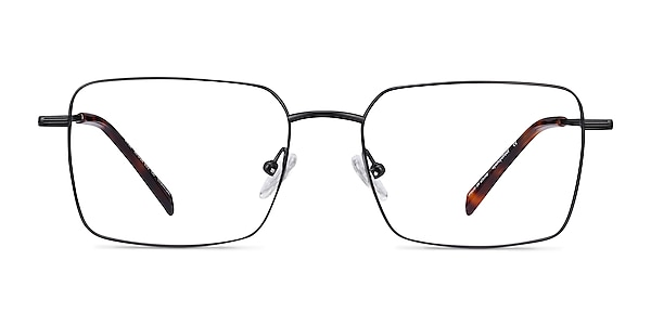 Apex Black Titanium Eyeglass Frames