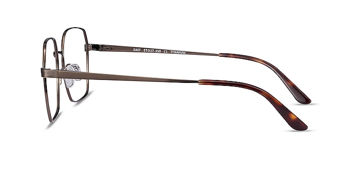 East Bronze Titanium Eyeglass Frames from EyeBuyDirect