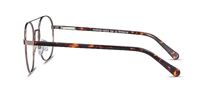 Gordon Bronze Acetate Eyeglass Frames from EyeBuyDirect