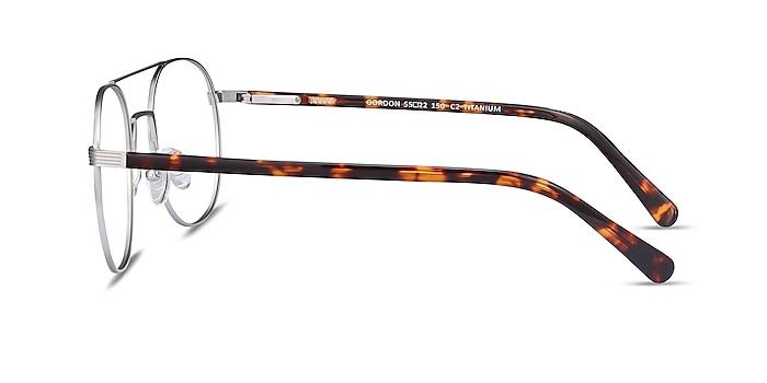 Gordon Silver Acetate Eyeglass Frames from EyeBuyDirect