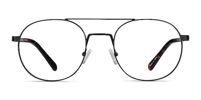 Gordon Black Acetate Eyeglass Frames from EyeBuyDirect