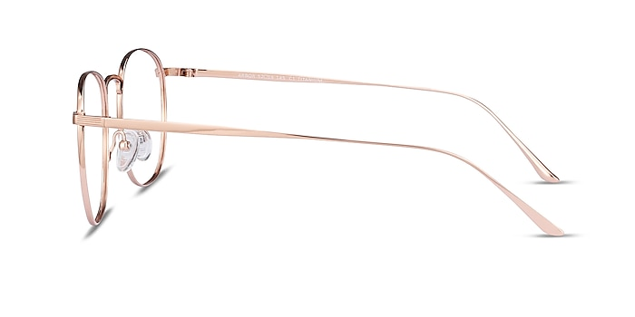 Arbor Rose Gold Titanium Eyeglass Frames from EyeBuyDirect