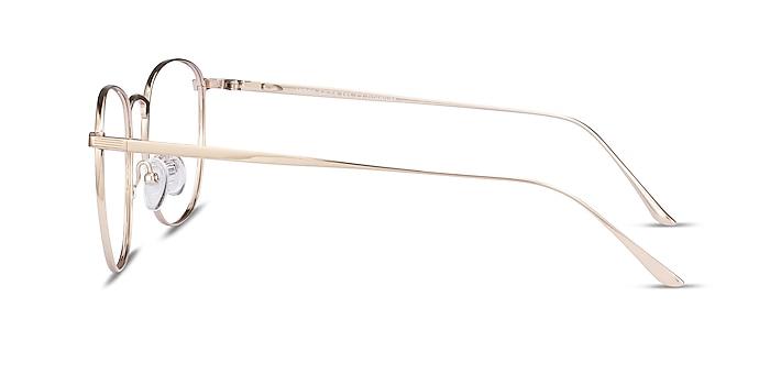 Arbor Gold Titanium Eyeglass Frames from EyeBuyDirect