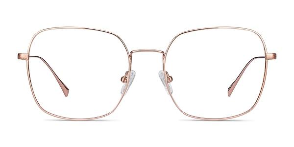 Meteor Rose Gold Titanium Eyeglass Frames