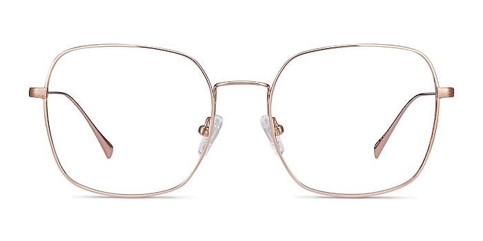 Meteor Rose Gold Titanium Eyeglass Frames from EyeBuyDirect
