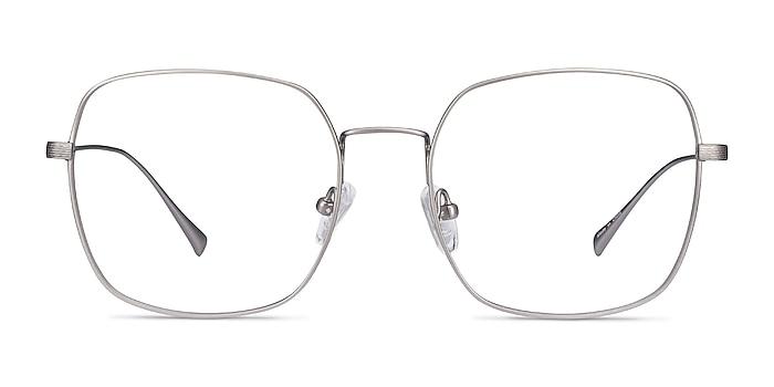 Meteor Gunmetal Titanium Eyeglass Frames from EyeBuyDirect