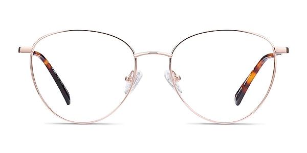 Lila Rose Gold Titane Montures de lunettes de vue