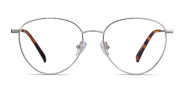 Lila Argenté Titane Montures de lunettes de vue