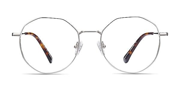 Julia Silver Titanium Eyeglass Frames