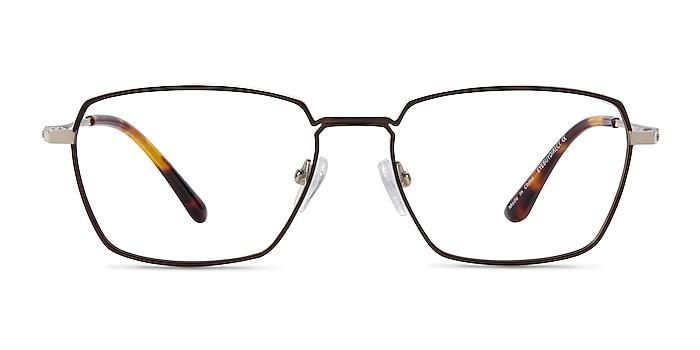 Eren Bronze Gold Titanium Eyeglass Frames from EyeBuyDirect