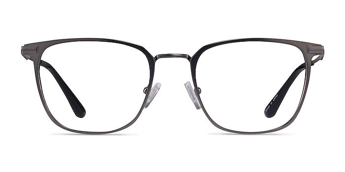 Pond Matte Gunmetal Titanium Eyeglass Frames from EyeBuyDirect