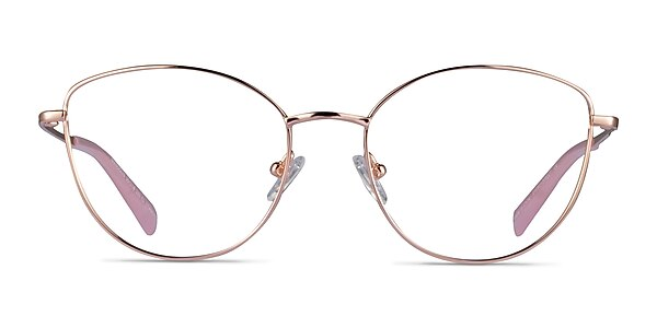 Mandolin Rose Gold Titanium Eyeglass Frames
