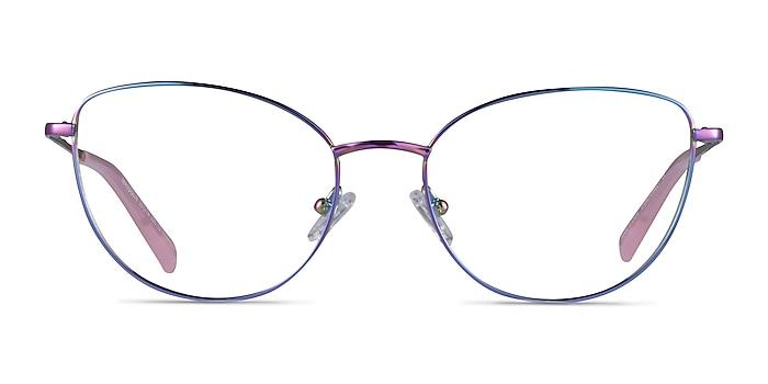 Mandolin Rainbow Titanium Eyeglass Frames from EyeBuyDirect