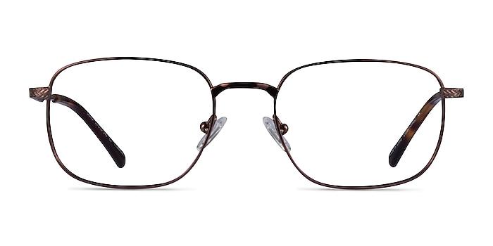 Gong Coffee Titanium Eyeglass Frames from EyeBuyDirect