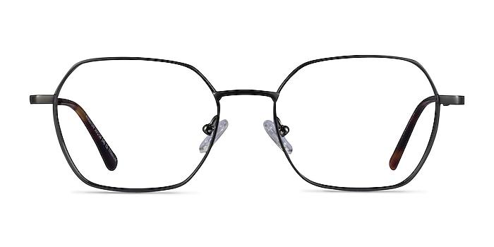 Kingston Gunmetal Titanium Eyeglass Frames from EyeBuyDirect