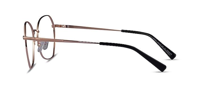 Anissa Rose Gold Titanium Eyeglass Frames from EyeBuyDirect
