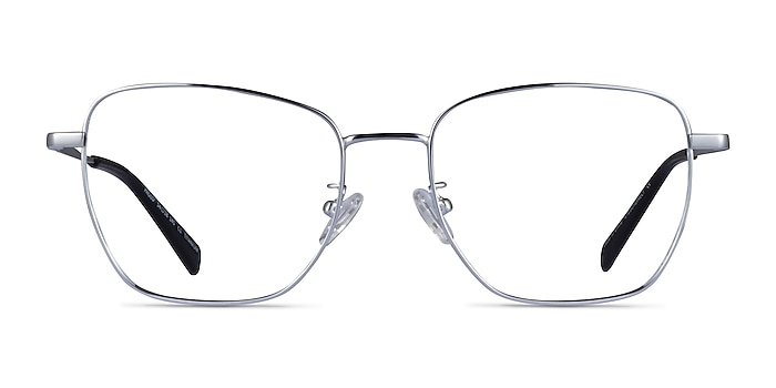 Paolo Gunmetal Titanium Eyeglass Frames from EyeBuyDirect