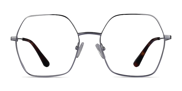 Elixir Silver Titanium Eyeglass Frames from EyeBuyDirect