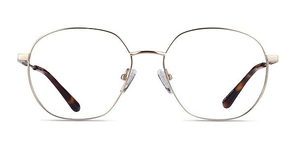Diana Gold Titanium Eyeglass Frames
