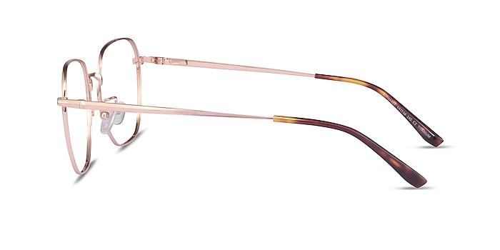 Alphabet Rose Gold Titanium Eyeglass Frames from EyeBuyDirect