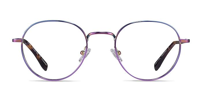 Antone Rainbow Titanium Eyeglass Frames from EyeBuyDirect