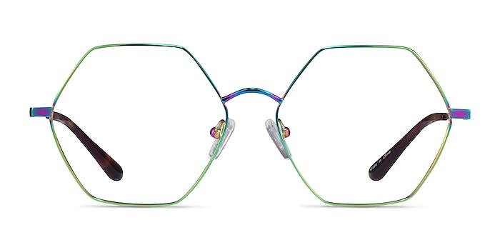 Esto Rainbow Titanium Eyeglass Frames from EyeBuyDirect
