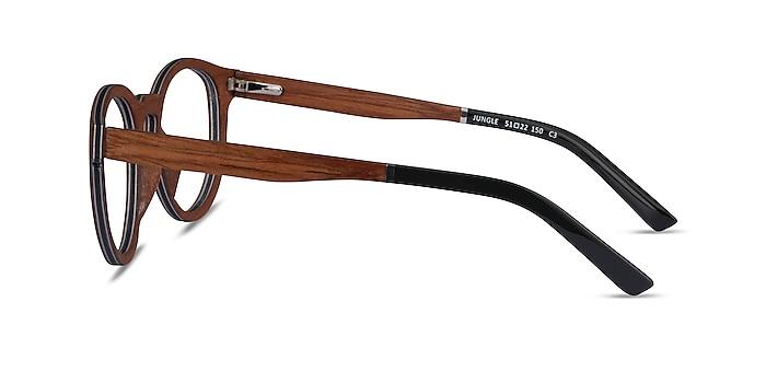 Jungle Light Wood Wood-texture Eyeglass Frames from EyeBuyDirect