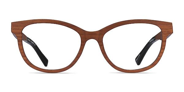 Botany Light Wood Wood-texture Montures de lunettes de vue