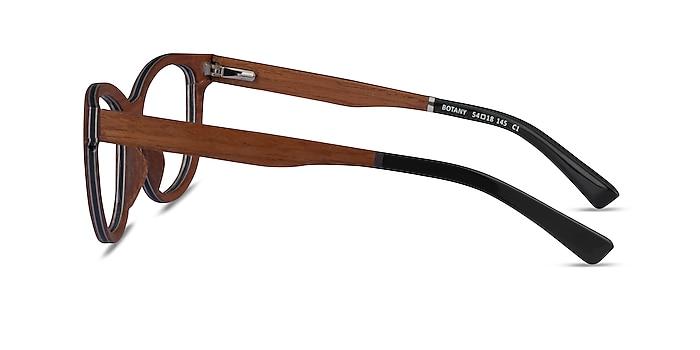 Botany Light Wood Wood-texture Montures de lunettes de vue d'EyeBuyDirect