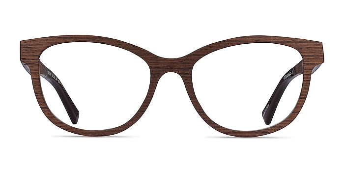 Botany Boisée Wood-texture Montures de lunettes de vue d'EyeBuyDirect