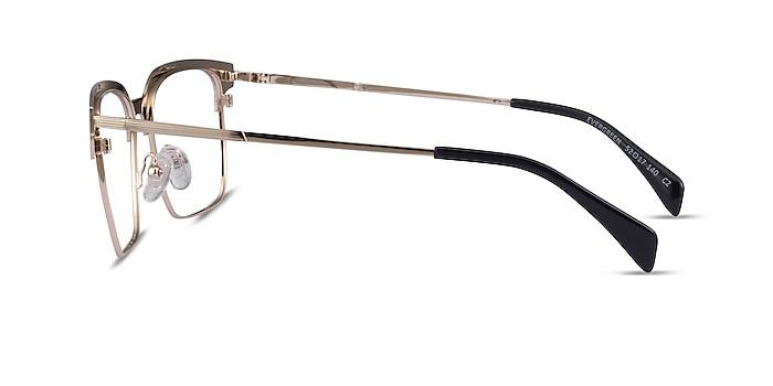 Evergreen Gold & Wood Wood-texture Eyeglass Frames from EyeBuyDirect