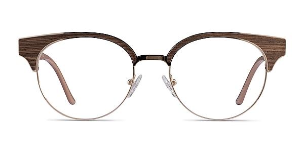 Wilderness Gold Beige Acetate Eyeglass Frames