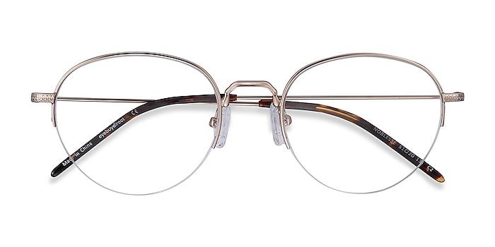 Golden Noblesse -  Vintage Metal Eyeglasses