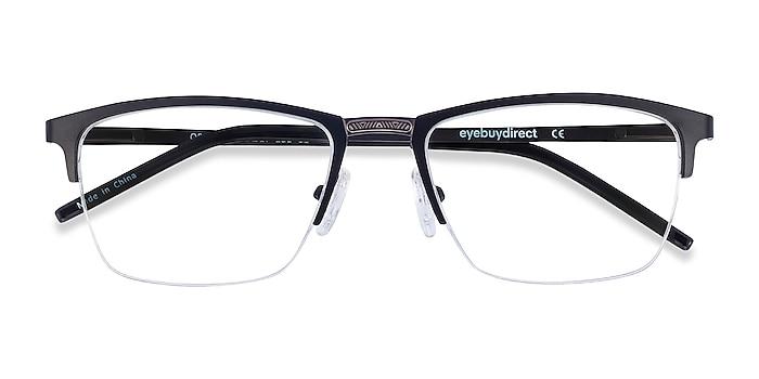 Black Osmosis -  Metal Eyeglasses