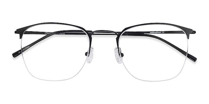 Black Urban -  Vintage Metal Eyeglasses