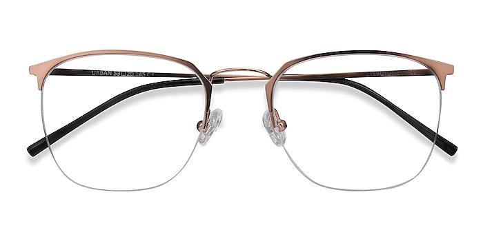 Rose Gold Urban -  Vintage Metal Eyeglasses