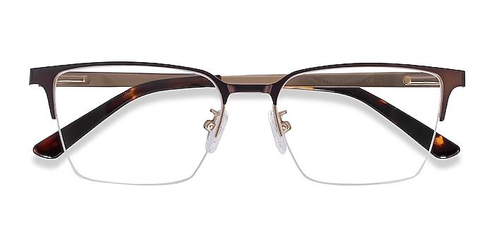 Brown Brink -  Metal Eyeglasses